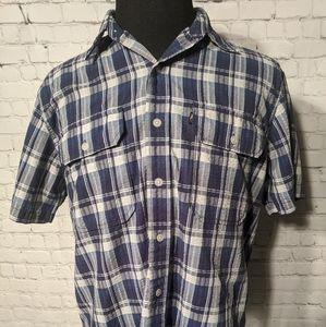 Men's Polo Ralph Lauren short Sleeve Button Up